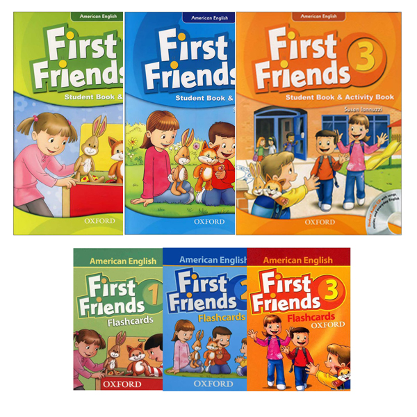 American First Friends Flashcards Series