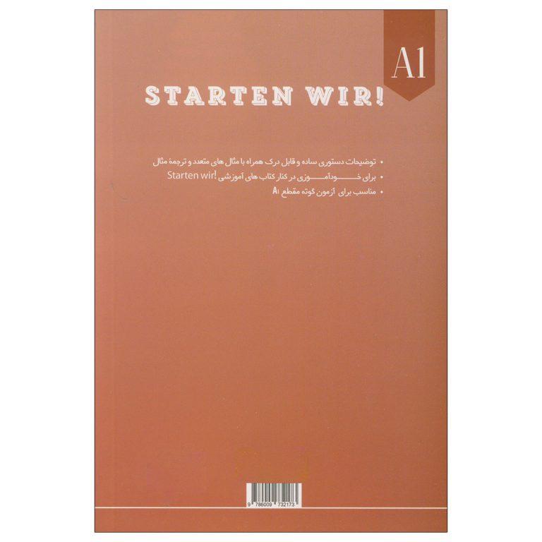 دستور زبان آلمانی STARTEN WIR A1