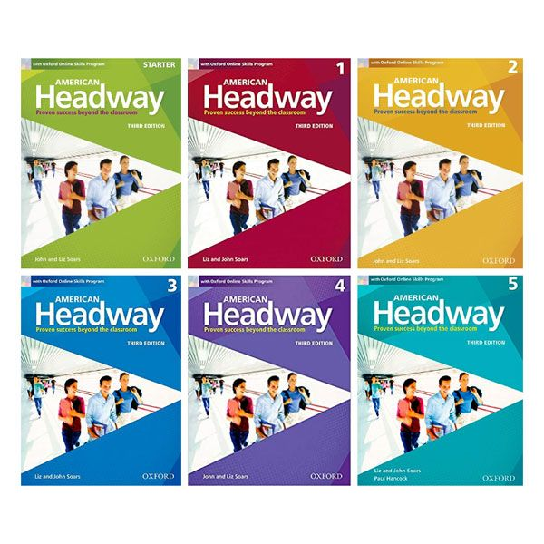 American Headway Third Editions Book Series