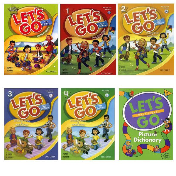 Lets Go Fourth Edition Book Series