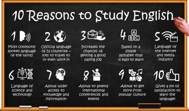چرا زبان انگلیسی یاد بگیریم؟