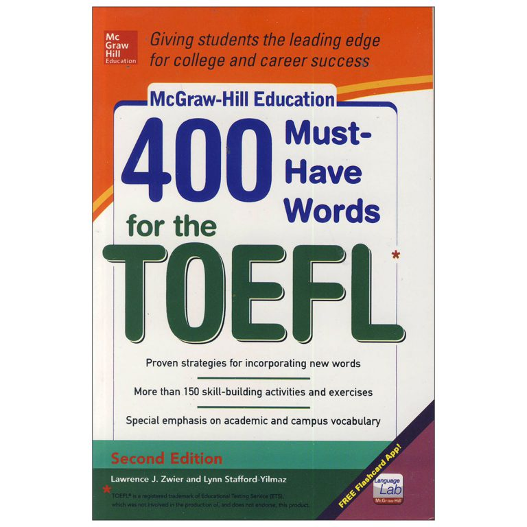 400Must Have Words for the TOEFL