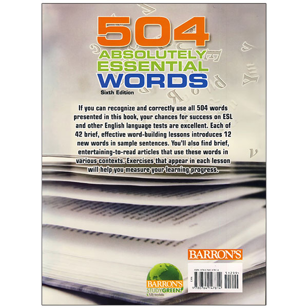 504Absolutely Essential Words 6th Edition