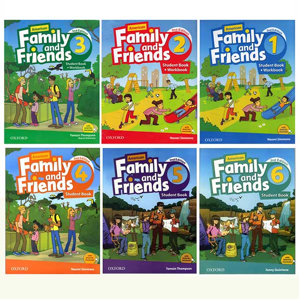 American Family and Friends Book Series