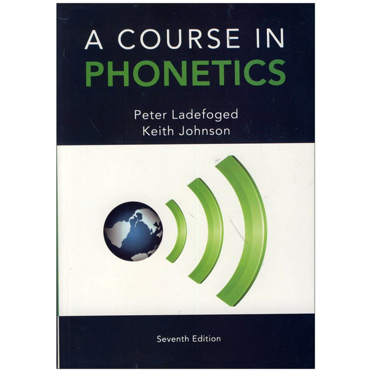 A course in phonetics 7th Edition