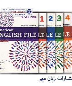 خرید کتاب American English File