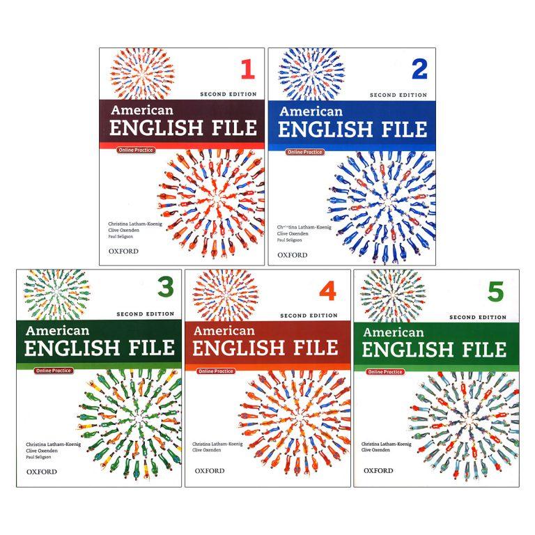 American English File Book Series 1-5