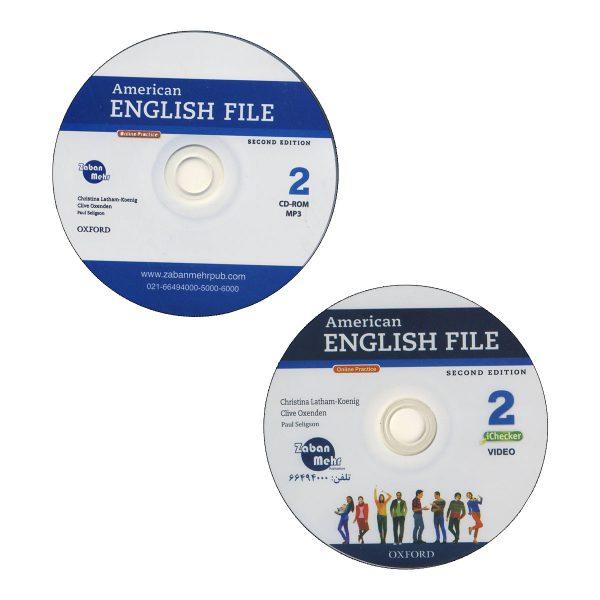American-English-file-2 cd