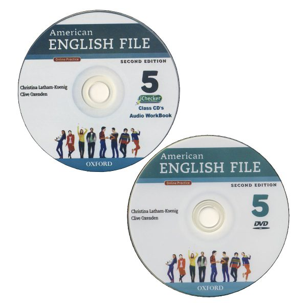 American-English-file-5 cd