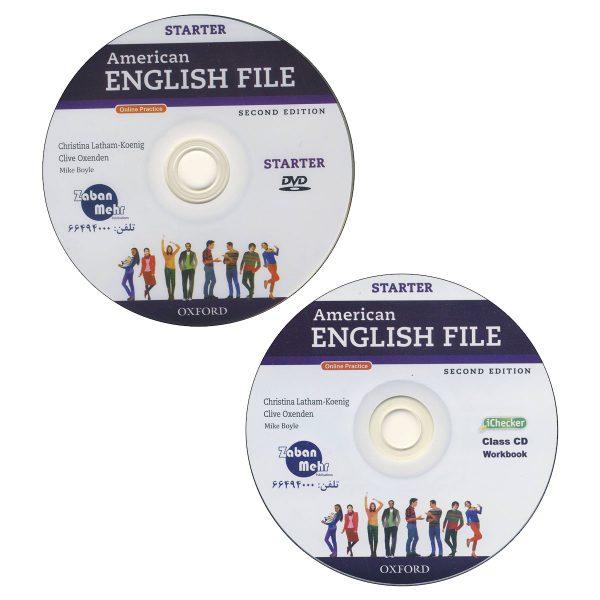 American-English-file-Starter cd