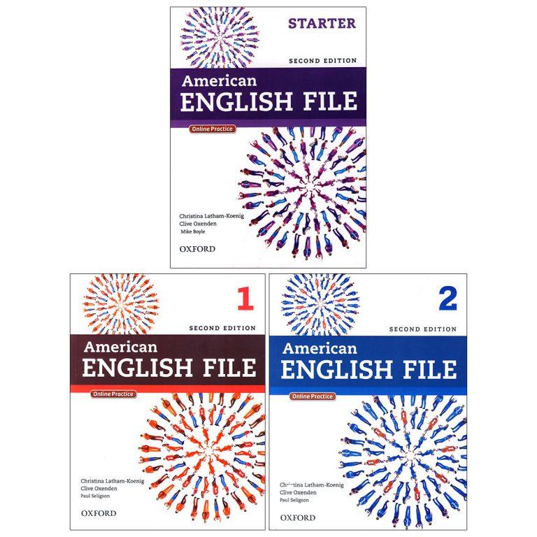 American English File Books Starter-1-2