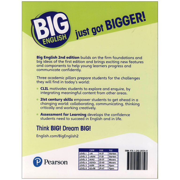 Big English 4 Second Edition