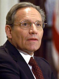 باب وودوارد نویسنده کتاب سیاسی وحشت ترامپ در کاخ سفید