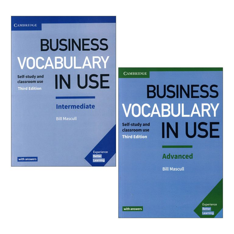 Business Vocabulary in Use 3rd Edition Book Series