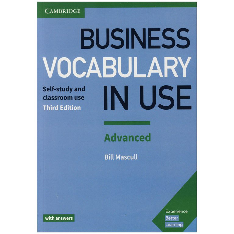 Business Vocabulary In Use Advanced Third Edition