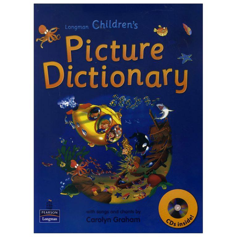 Longman Children's Picture Dictionary (Blue)