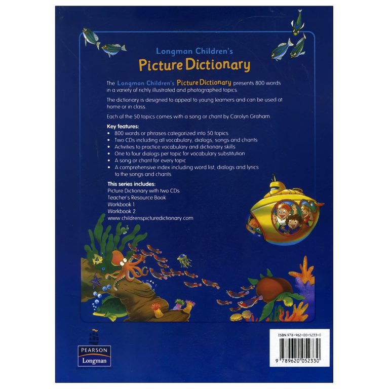 Children Picture Dictionary (Blue)