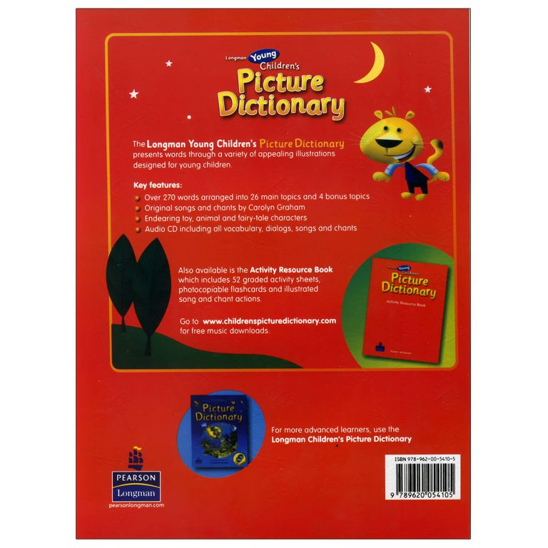 Longman Young Children's Picture Dictionary (Red)