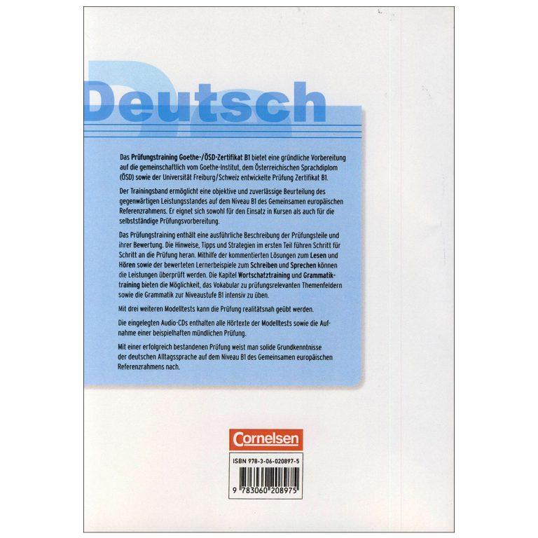Deutsch Prufungstraining Goethe Zertifikat B1