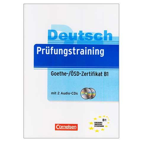 کتاب Deutsch Prüfungstraining Goethe Zertifikat B1