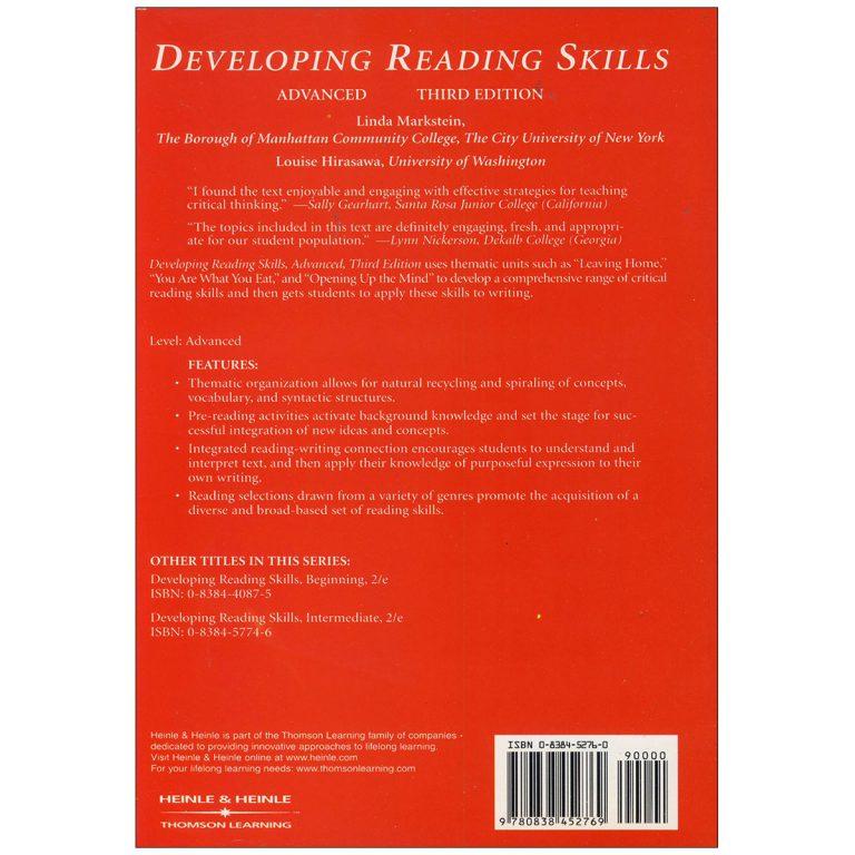 Developing Reading Skills Advanced