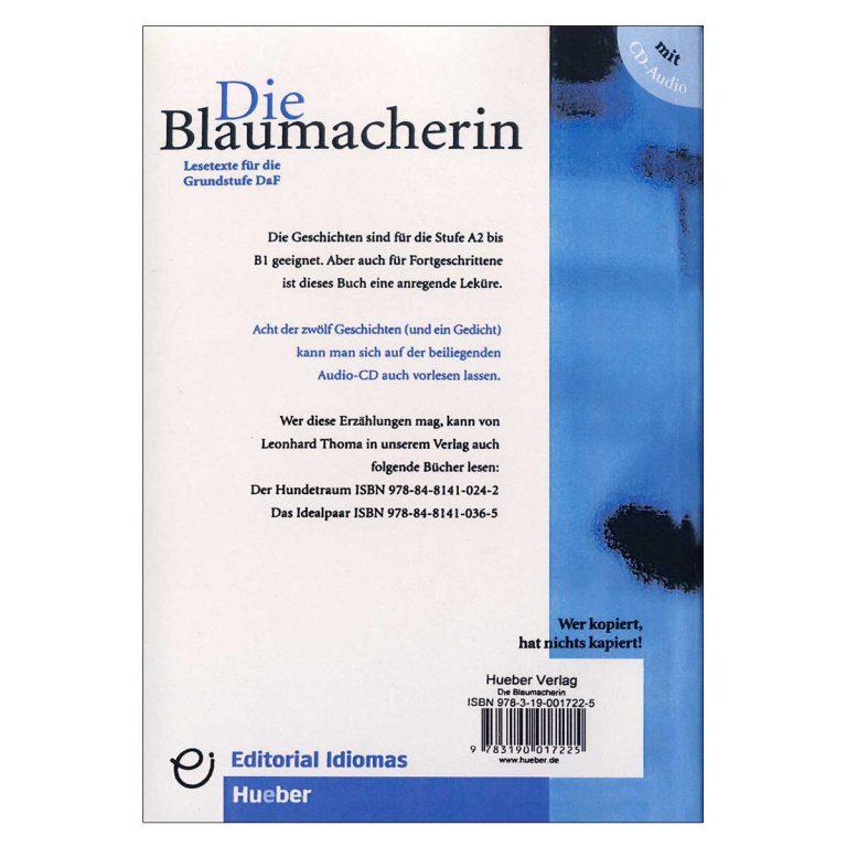 داستان آلمانی Die Blaumacherin