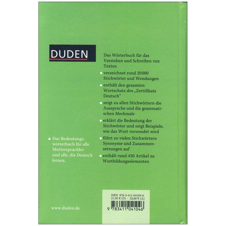 Duden 10 Das Bedeutungs worterbuch