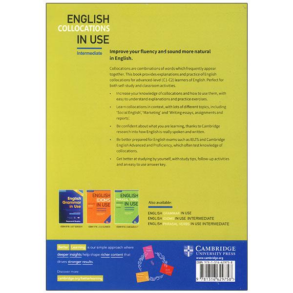 English Collocations in use intermediate