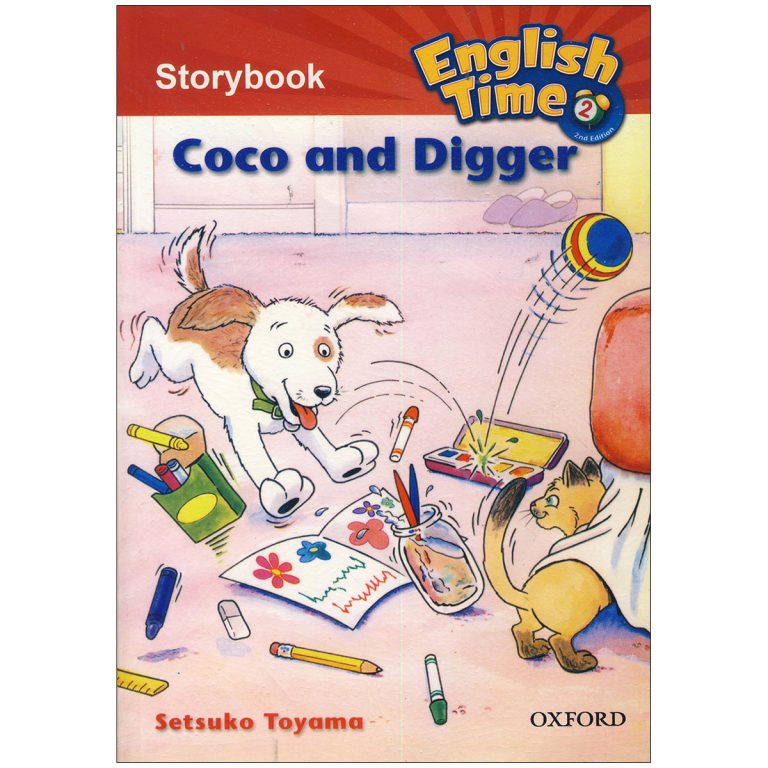 English Time 2 Storybook – Coco and Digger