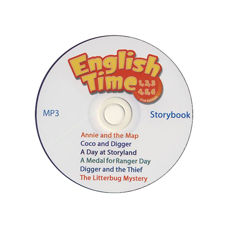 English Time 4 Storybook – A Medal for Ranger Day