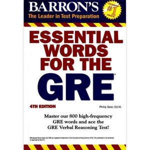 کتاب لغات ضروری برای آزمون gre,Essentaial words for the GRE