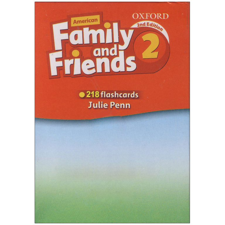 فلش کارت American Family and Friends 2