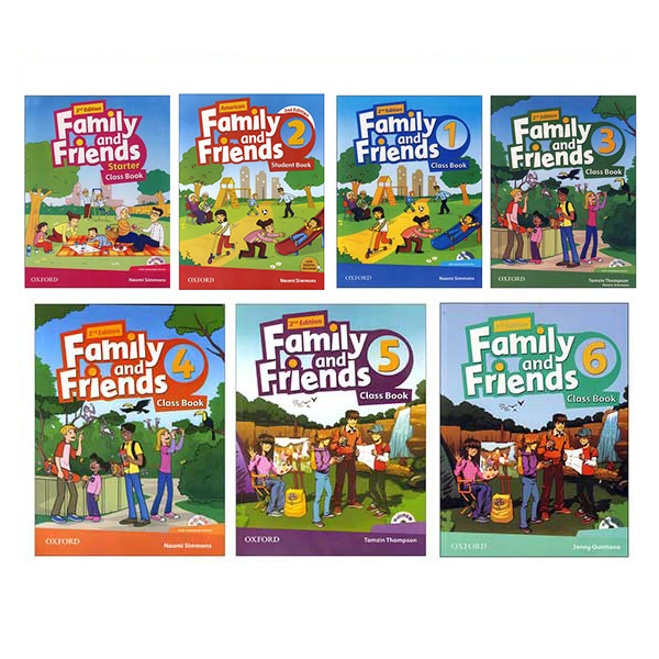 Family and Friends Book Series (British Edition)