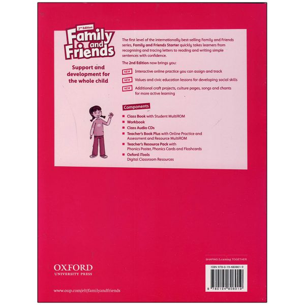 Family and Friends starter Second Edition