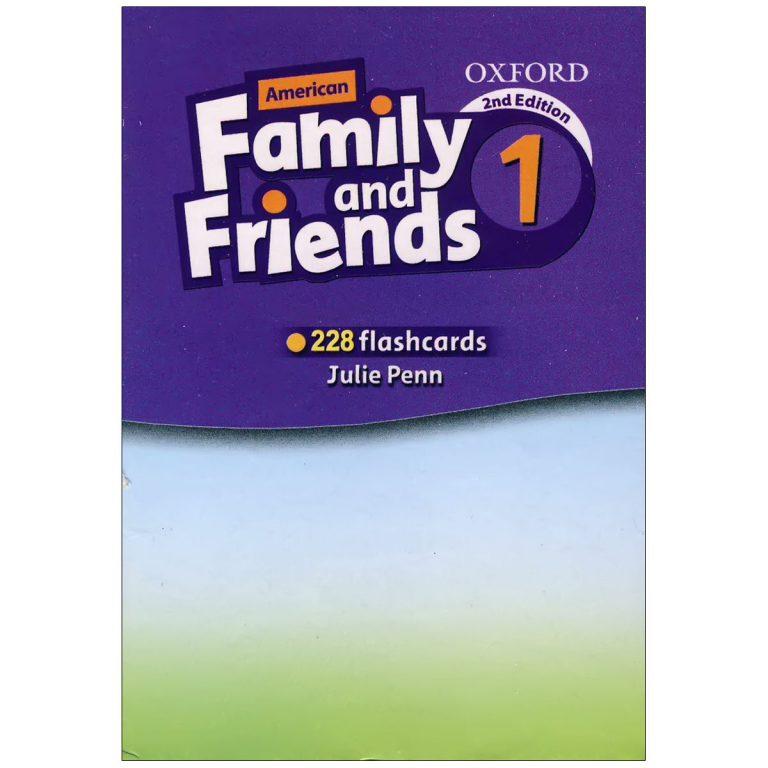 فلش کارت American Family and Friends 1