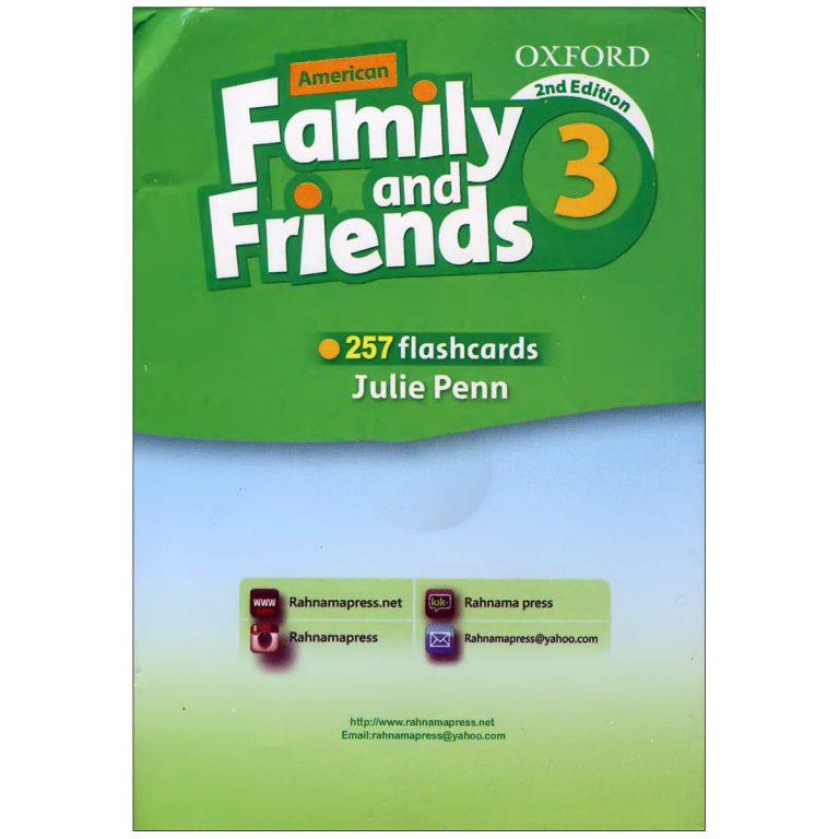 فلش کارت American Family and Friends 3