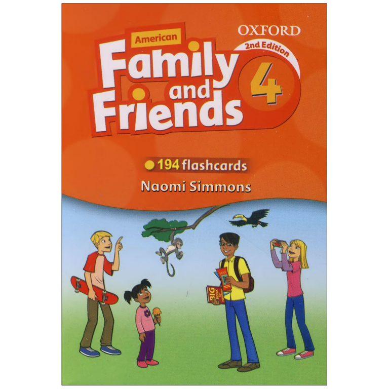 فلش کارت American Family and Friends 4