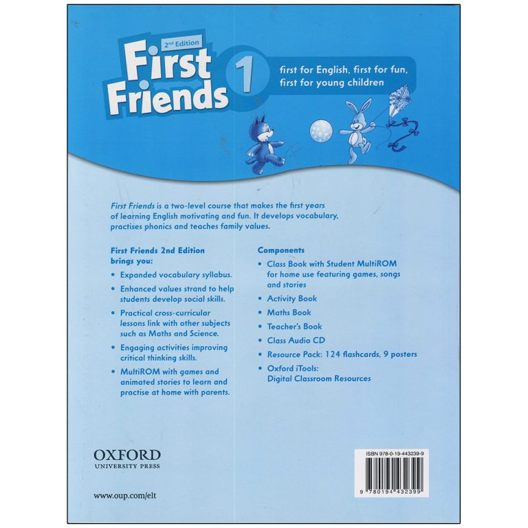 First Friends 1 British Accent + Math Book