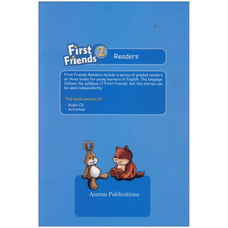 First Friends 2 Readers book A good Picnic
