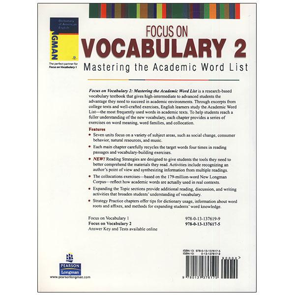 focus on vocabulary 2