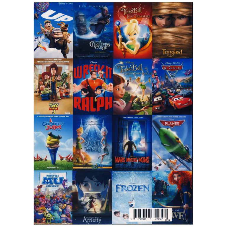 والت دیزنی WALT DISNEY COLLECTION French Pack 4
