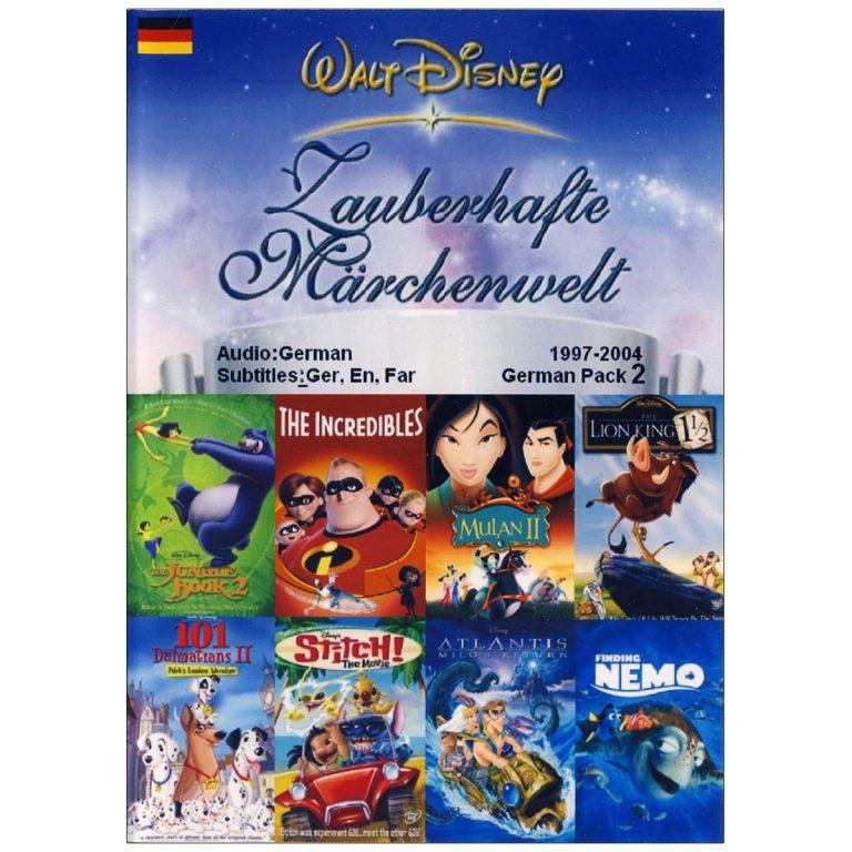 والت دیزنی WALT DISNEY German Pack 2
