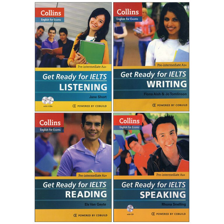 Collins Get Ready for IELTS book series