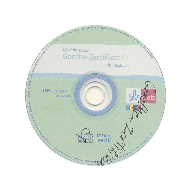 Goethe Zertfikat C1