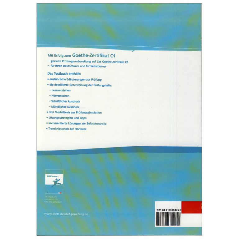 Goethe Zertfikat C1 testbuch