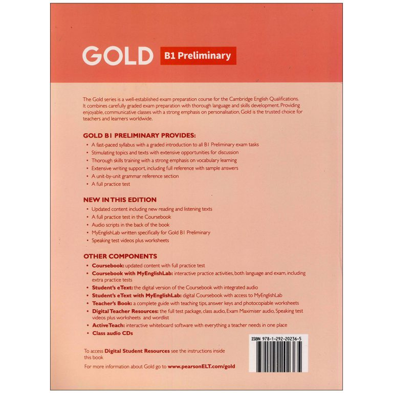 Gold B1 Preliminary