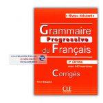 Grammaire progressive du Francias niveau debutant