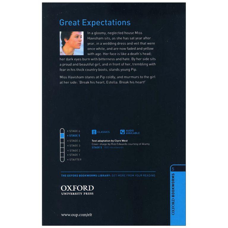 کتاب داستان دوزبانه آرزوهای بزرگ Great Expectations