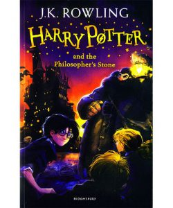 HARRY POTTER 1,کتاب رمان هری پاتر و سنگ جادو زبان اصل,Harry potter and the philosopher's stone