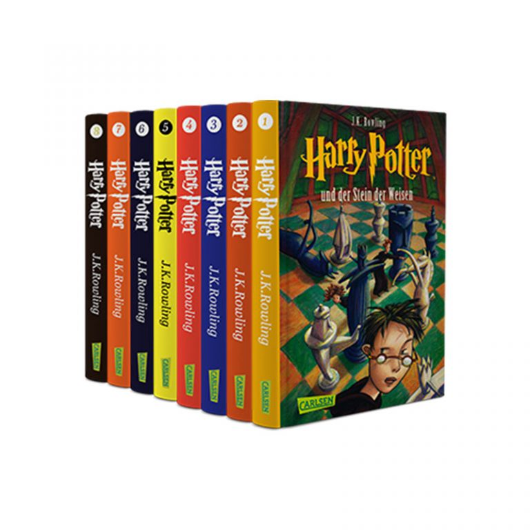 Harry Potter German Edition Book Series